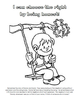 do right coloring pages - photo#7